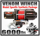 6000LB VENOM ATV WINCH KIT YAMAHA Rhino 03-13 450 660 700