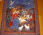 Nativity Wall HangingHand Embroidered Quilted 3 Dimensional Wall Hanging