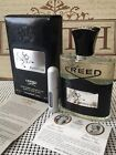 """CREED AVENTUS - BATCH 16F01 - """"SMOKEY PINEAPPLE"""" - 5ML Sample in DELUXE Atomizer"""
