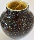 Rare Cohn Tortoise Shell Glass Vase Limited Edition Signed  Numbered