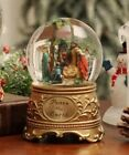 Nativity Peace on Earth Water Globe Glitter included Song plays Silent Night