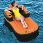 BESTWAY 74 X 41 ULTRA DELUXE SWIMMING POOL AND LAKE FLOATING LOUNGE