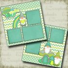 GNOME ONE LIKE YOU 2 Premade Scrapbook Pages EZ Layout 3754