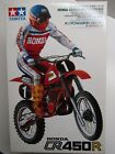 Tamiya 1:12 Scale Honda CR450R MX & Rider Model Kit - New - # 14018*1000
