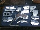 harley covers chrome touring softail sportster dyna parts lot no reserve buy low