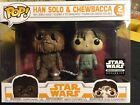 Funko Pop! Star Wars: Han and Chewbacca 2 Pack Smuggler's Bounty Exclusive NIB