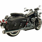 Supertrapp Chrome FatShot 2 Into 1 Exhaust 2010 16 Harley Touring Models