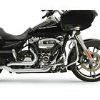 Bassani Chrome True Dual Down Under Head Pipes 2017 19 Harley Touring