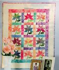 Playing With Peonies Quilt Pattern Pieced Applique SC
