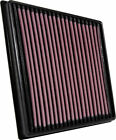 K&N Replacement Air Filter for Jaguar F-Pace, XE, XF, Land Rover / 33-3074