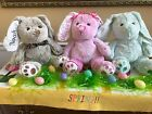 Embroidered Personalized Easter Spring Baby Shower Plush Bunny FREE SHIPPING