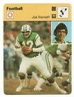 Joe Namath Cards, Rookie Cards and Autographed Memorabilia Guide 13
