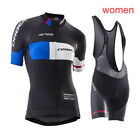 Pro Team Cycling Jersey Women Summer Quick Dry Bicycle Clothing racing spo