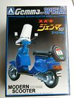 Aoshima 1/12 Scale Suzuki Gemma 50 Special Scooter Model Kit - New #0037706-1200