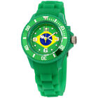 Ice World Brazil Edition Multi-Color Dial Silicone Strap Unisex Watch WO.BR.S.S.