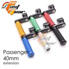 CNC 40mm Adjustable Rear Foot Pegs For Ducati 916 S SP R All year