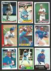 BIG LOT MONTREAL EXPOS Approx 400 Cards Dawson Brooks Topps Tiffanys + more