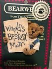 Boyd Bear Collection Bearwear Worlds Bestest Mom Pin Mothers Day Gift