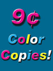500 Single Sided Color Copies 60lb Paper