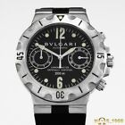 BULGARI  DIAGONO SCUBA  SCB 38 S  CHRONOGRAPH  S. STEEL 38mm  AUTOMATIC  B