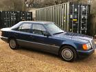 LARGER PHOTOS: 1992 MERCEDES 260E ** MANUAL** 1 OWNER FROM NEW* FULL LEATHER* NO MOT* RARE CAR