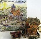RARE- BOYDS BEARS- BEARLY BUILT-VILLAGES -PUBLIC LIBEARY  #19006 (MIB)