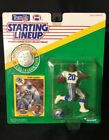 NFL Football Barry Sanders (1991) Starting Lineup Action Figure w/ Card Vintage