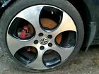 Wheel 18x7 1 2 Alloy 5 Spoke Single Detroit Opt CQ4 Fits 06 14 GOLF GTI 187786