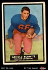 1951 Topps Magic Football Cards 8