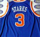 John Starks autographed Jersey (New York Knicks) Road Blue