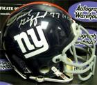 Frank Gifford signed mini helmet inscribed HOF 77 (New York Giants)