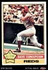 Dave Concepcion Cards, Rookie Cards and Autographed Memorabilia Guide 12