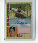 JOHN SMOLTZ 2019 Topps 1984 Silver Pack Chrome SUPERFRACTOR AUTO 1 1 '84 Braves