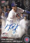 Kris Bryant Autograph Topps Now 2016 NLCS Topps Certified Auto #'d 09 199