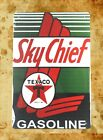 US Seller- garage ceiling metal poster Sky Chief Texaco gasline tin metal sign