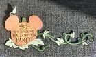 Disney Mickeys not so scary party title printed scrapbook page die cut