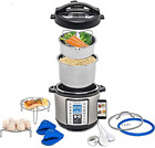 Total Package 9-in-1 Instant Multi-Use Programmable Pressure Cooker, Deluxe Kit