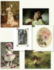 Victorian Trading Co All Occasion Art Stationery Greeting Cards Pack of 12
