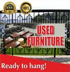 Used Furniture Banner Vinyl Mesh Banner Sign Flag Recliners Chairs Sofas Sale