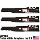 3PK Oregon Gator Blades For 48 Exmark Lazer Z CT HP Metro ASX Turf Tracer