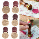 US Retro Wood Handle Brass Seal Wax Stamp for Birthday Party Envelope Card Decor