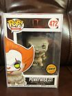 FUNKO POP IT Movie PENNYWISE with Boat Vinyl Figure Limited Edition CHASE #472