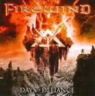 FIREWIND Days of Defiance CD 13 tracks FACTORY SEALED NEW 2010 Century Media USA