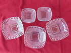 Diamond Quilt Pattern Candy or Nut Dishes - Vintage - In Mint Condition