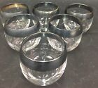 """Mad Men"" Style Wide Silver Rimmed Round Glasses Roly Poly"