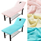 Quality Cosmetic Salon Massage Bed Table Soft Cover Spa Couch Sheet With Hole
