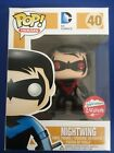 Funko Pop! Fugitive Toys Exclusive Nightwing (Red) DC Comics