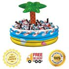 Palm Tree Inflatable Party Beverage Cooler Floating Pool Oasis Drink Ice Cooler