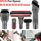 Brush Attachments Kit for Dyson V6 Accessories Fit with DC16 DC24 DC34 DC35 DC59