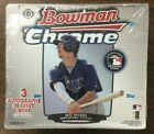 2013 Bowman Chrome Baseball Factory Sealed Hobby Jumbo Box
